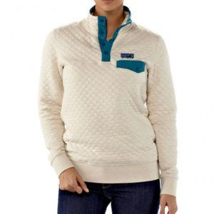 Patagonia Quilted Organic Cotton Snap T Pullover